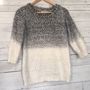 Revolution by Ricki's fuzzy knit sweater XL